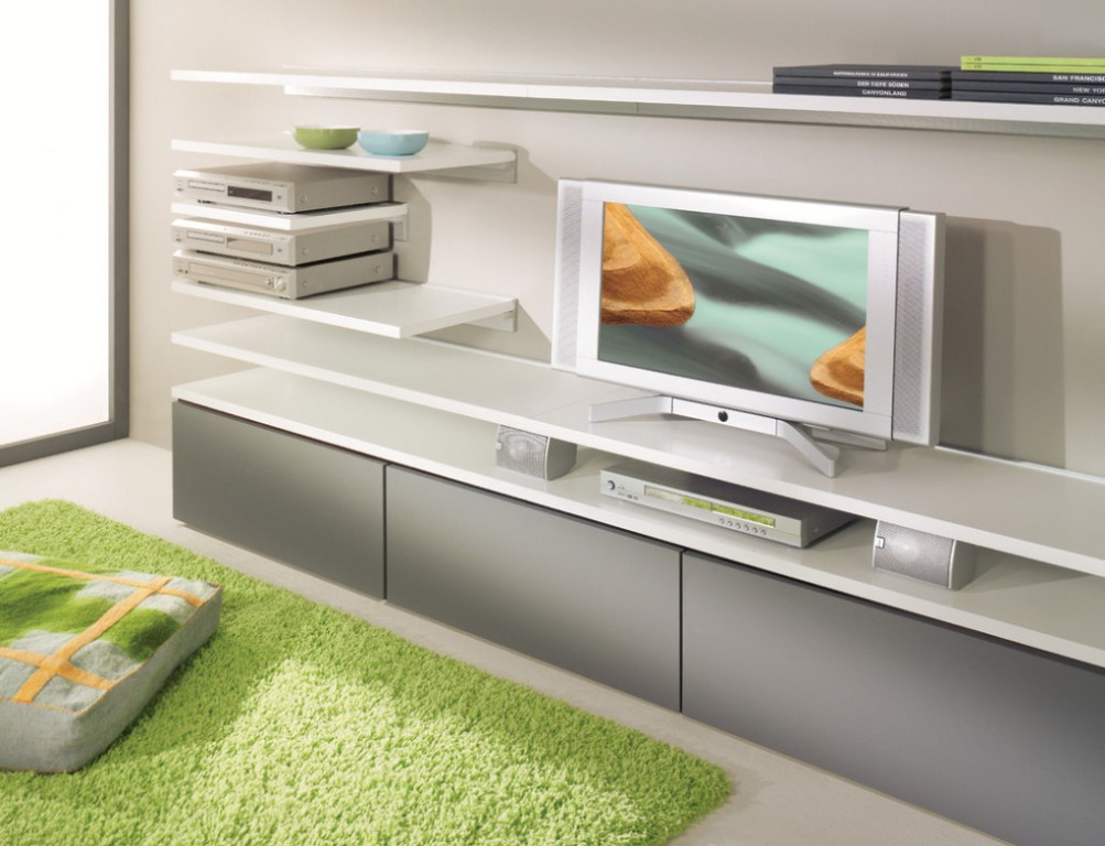 Image of: Modern Wall Shelves Decorating Ideas Contemporary