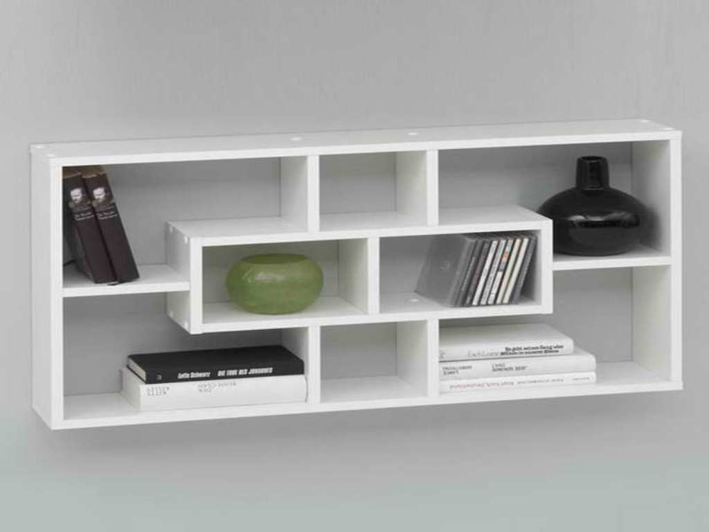 Image of: Modern Wall Shelves Decorating Ideas Diy
