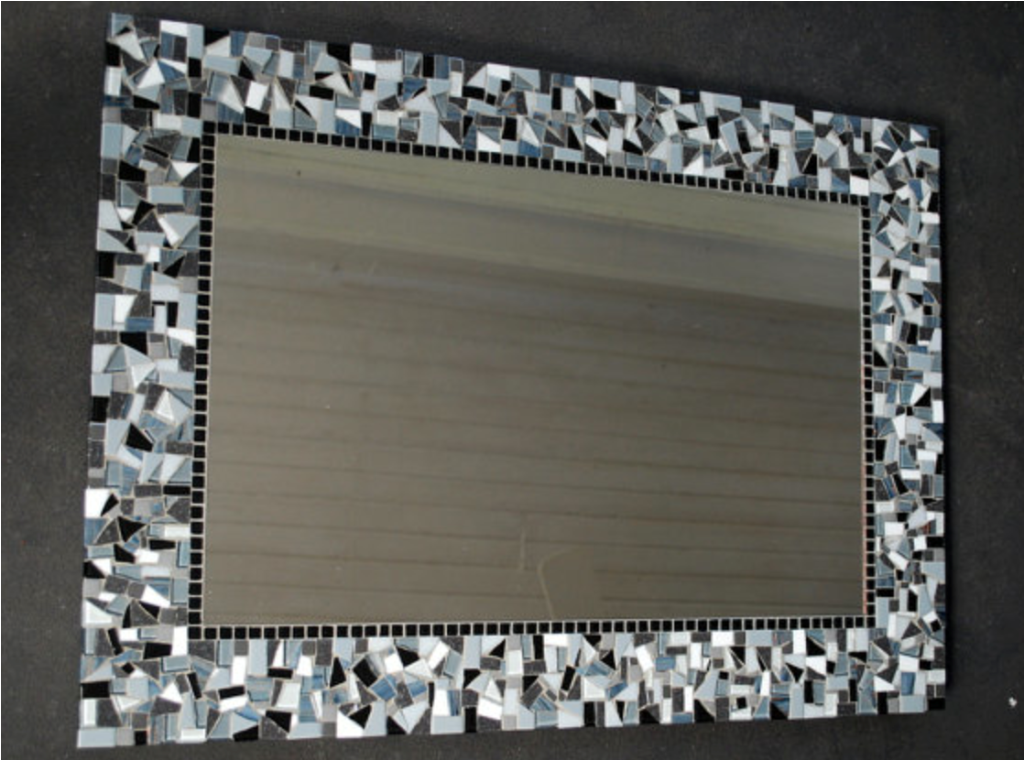 Image of: Mosaic Mirror Wall Decor Images