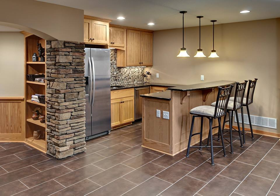 Image of: Nice And Best Basement Remodeling Ideas