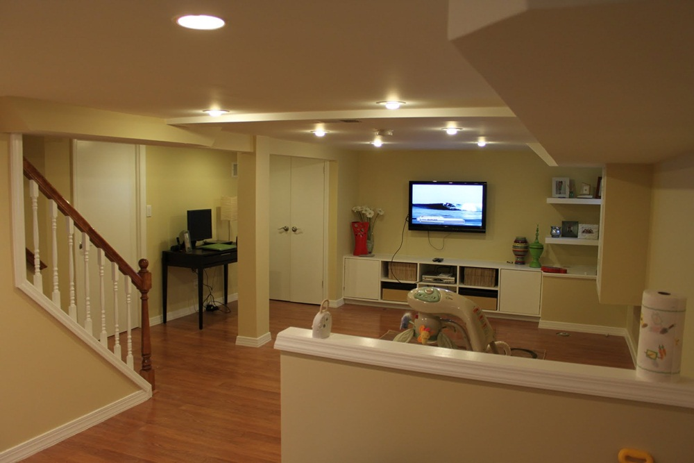Picture of: Nice Basement Lighting Options