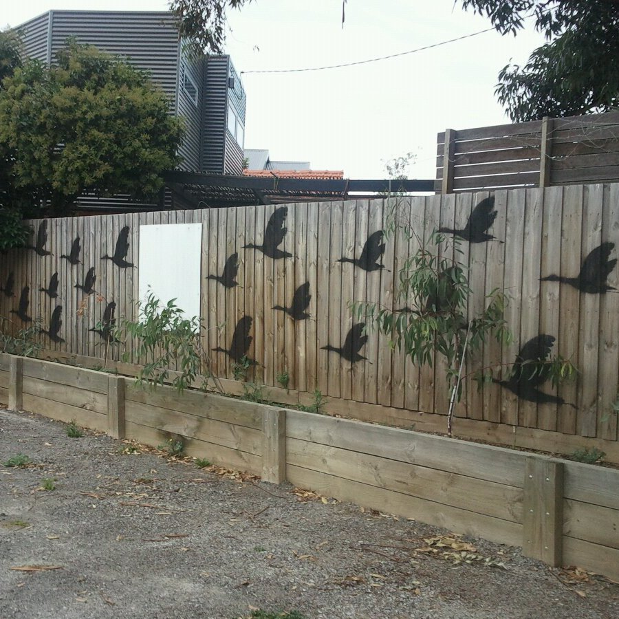 Image of: Outdoor Home Wall Decor Image
