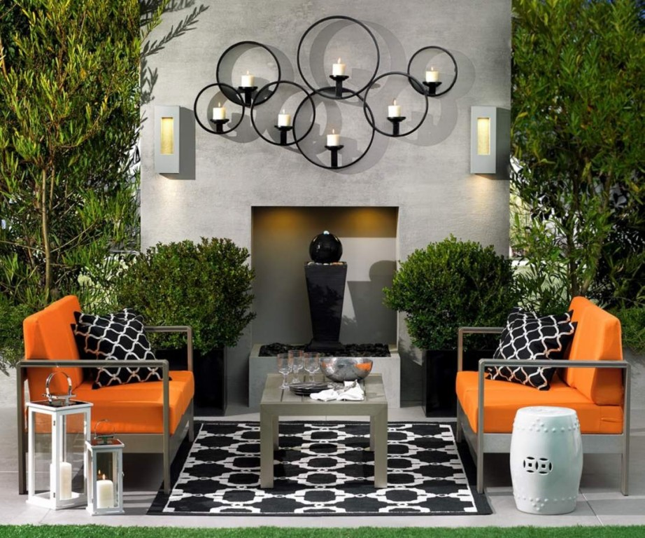 Image of: Outdoor Wall Decor Ideas for Kitchen