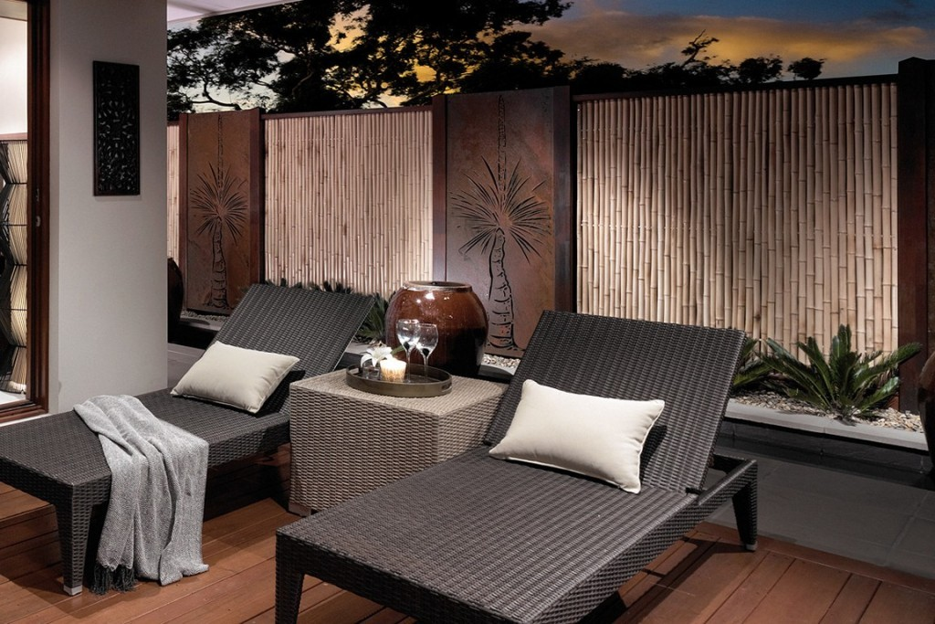 Image of: Outdoor Wall Decor Ideas for Men