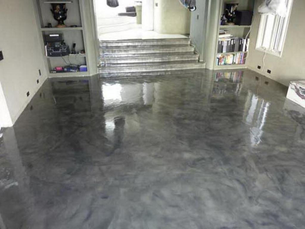 Paint Cement Floor Basement Sink