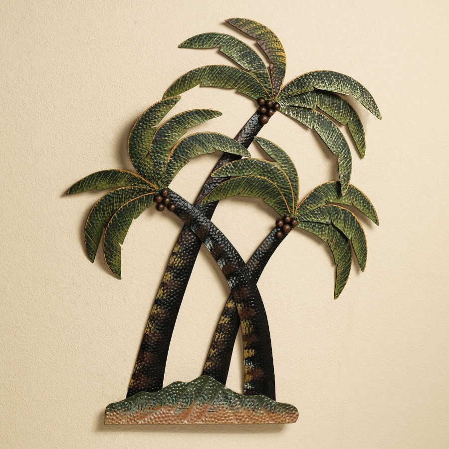 Palm Tropical Outdoor Wall Decor