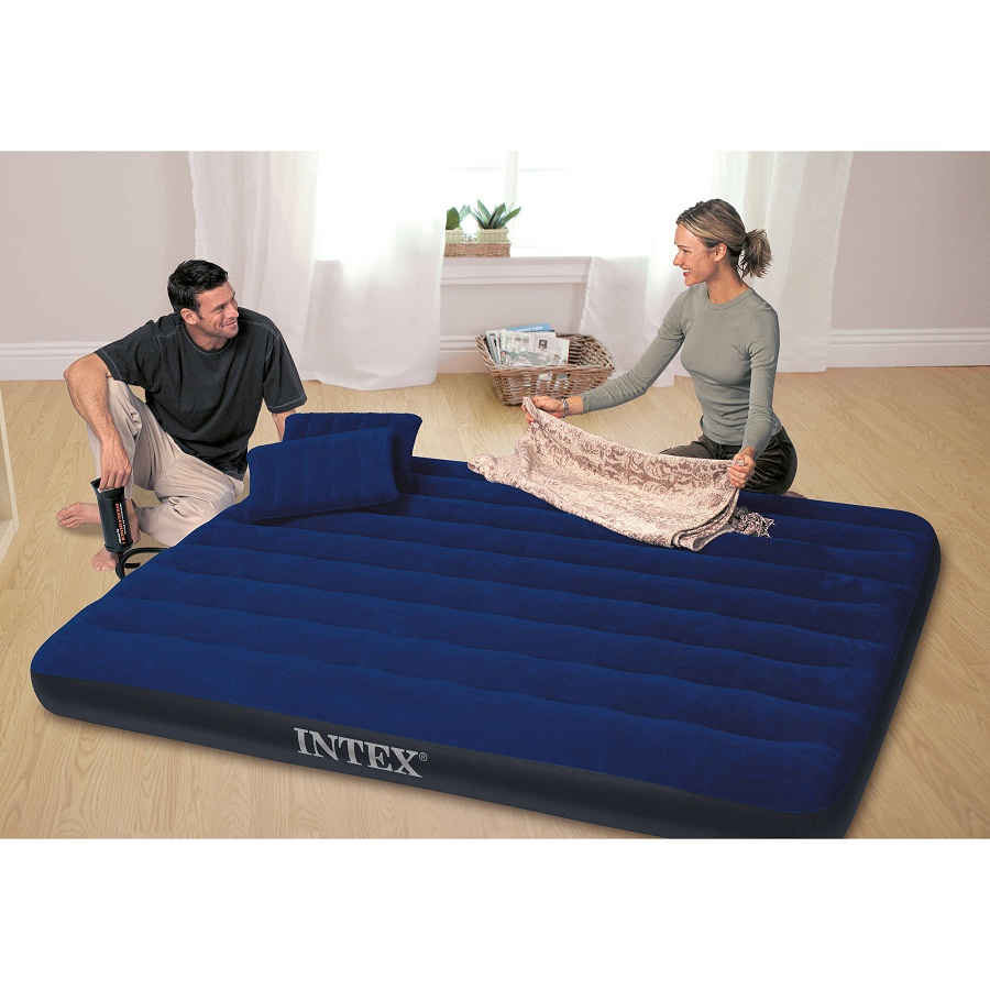 Queen Blow Up Mattress Floor