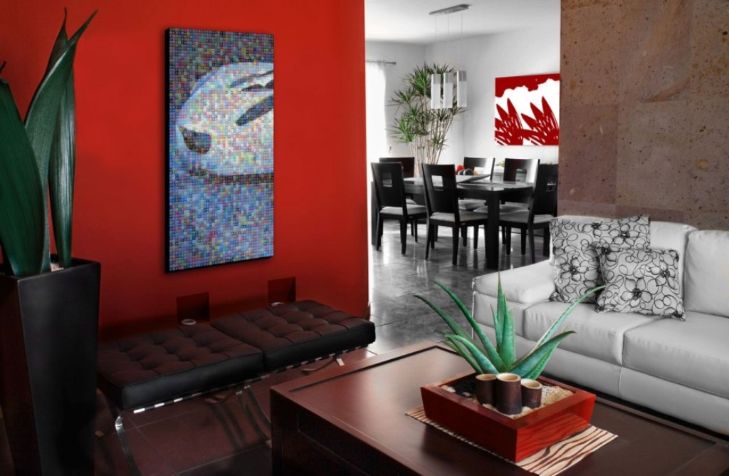Image of: Red Wall Art Decor by Gil Gilsphotoart