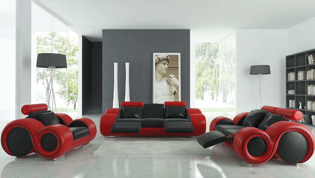 Image of: Red Wall Art Decor Designer