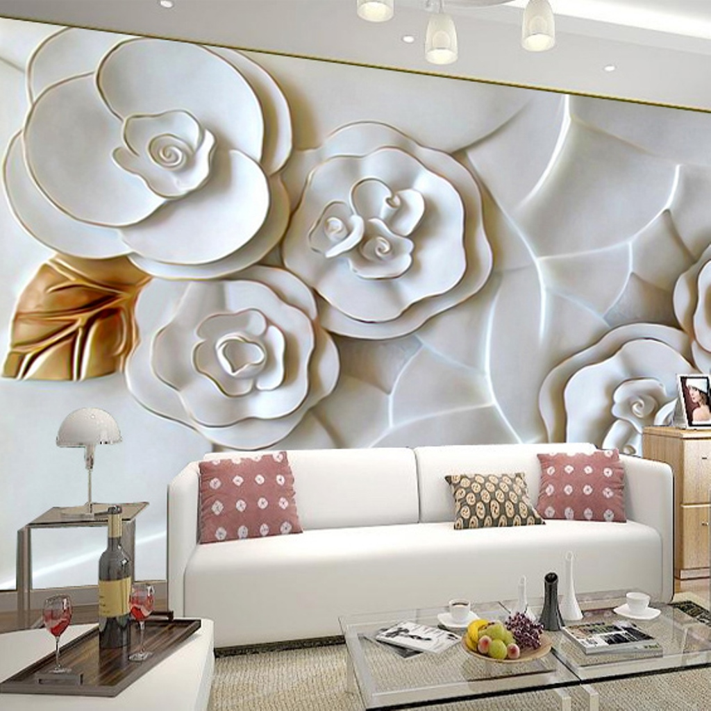Image of: Rose Modern Contemporary Wall Decor