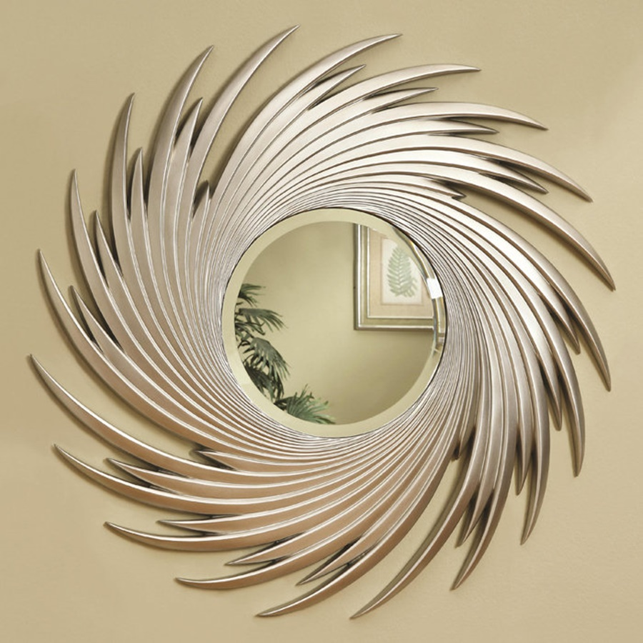 Metal Mirror Wall Decor