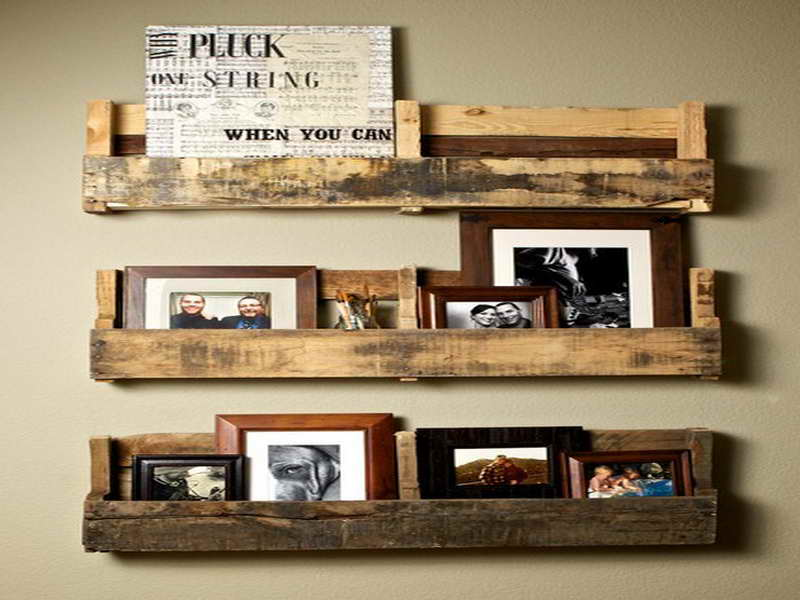 Image of: Rustic Bathroom Wall Decor Ideas