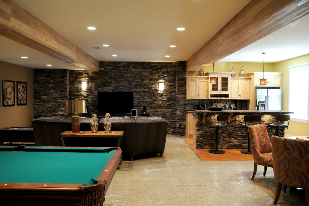 Image of: Small Basement Ideas for Kids