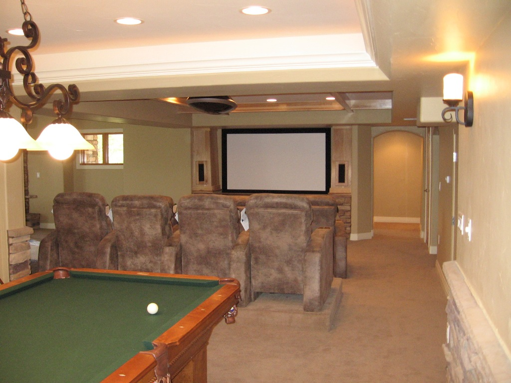 Image of: Small Basement Ideas for Small Basements
