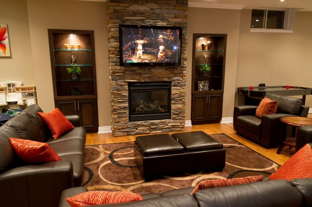 Image of: Small Basement Ideas for Teens