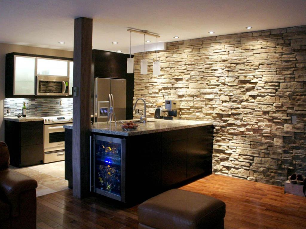 Image of: Small Basement Kitchen Ideas on Target