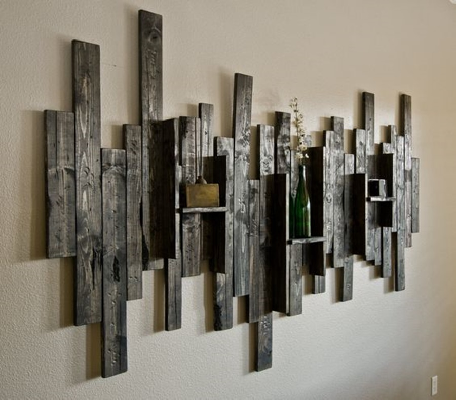 Stylish Modern Rustic Wall Decor