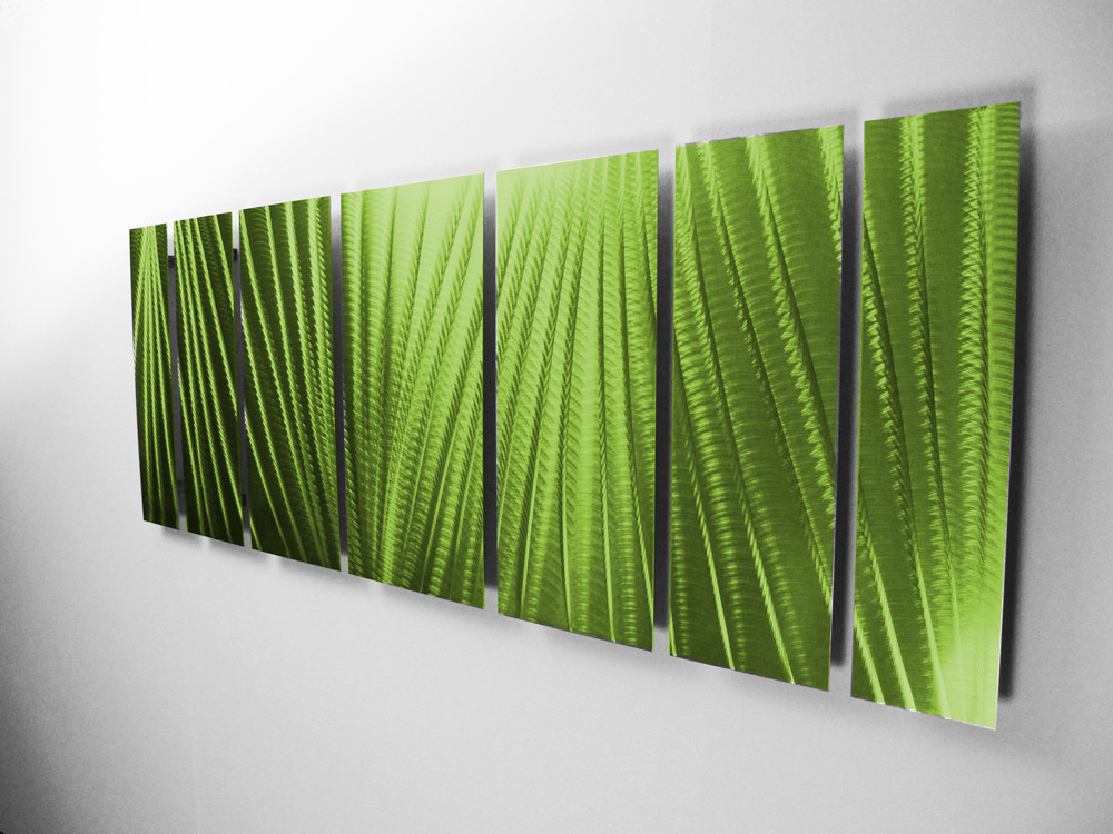Tropical Outdoor Wall Decor Green