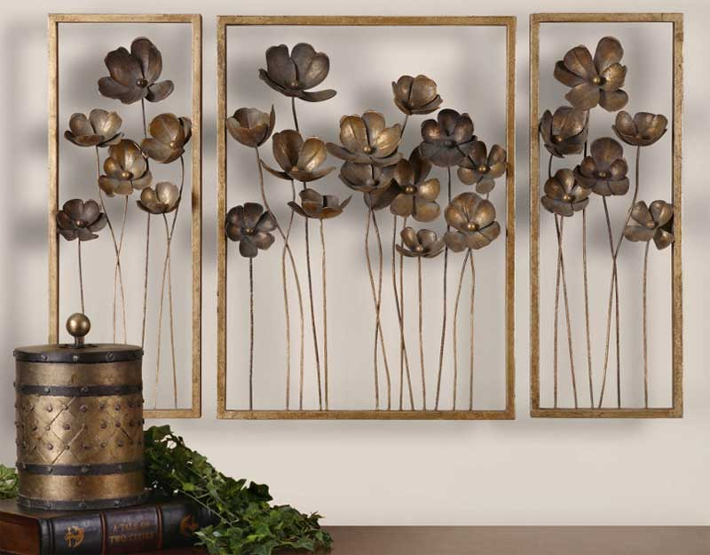 Tulips Large Metal Letters For Wall Decor