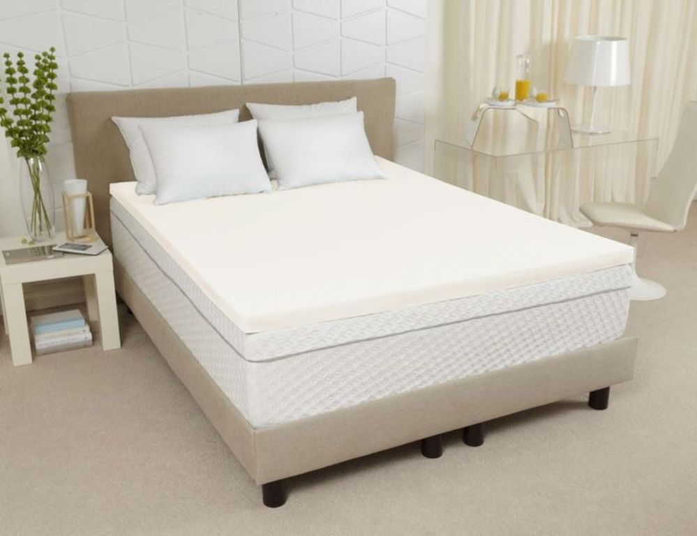 Image of: Twin XL Mattress Topper 3 Inch
