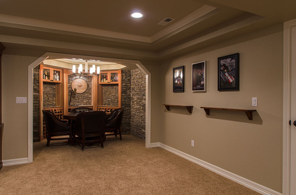 Image of: Wall Basement Design Denver