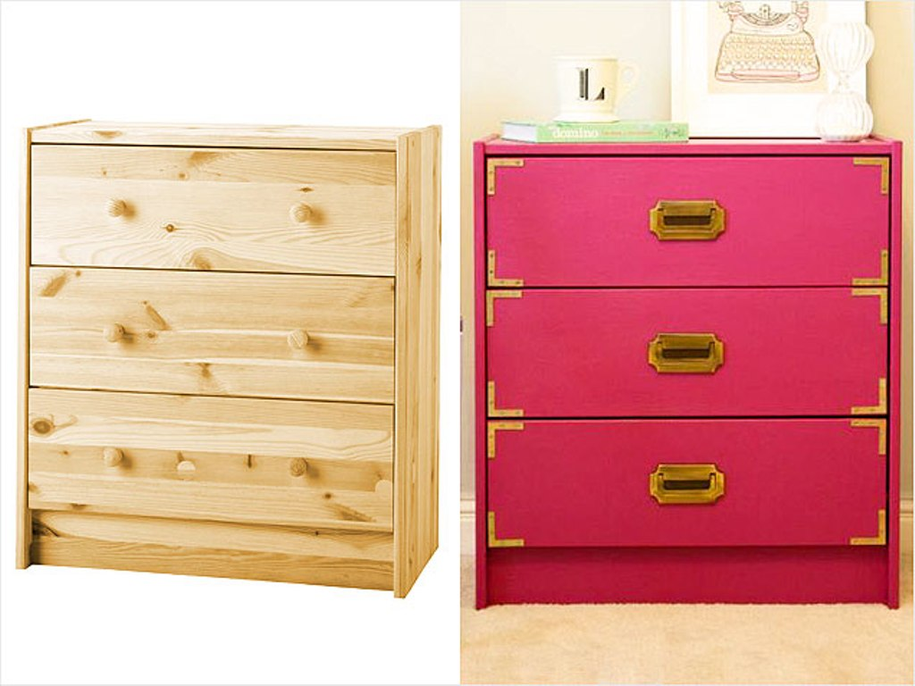 Image of: 3 Drawer Dresser Ikea Design