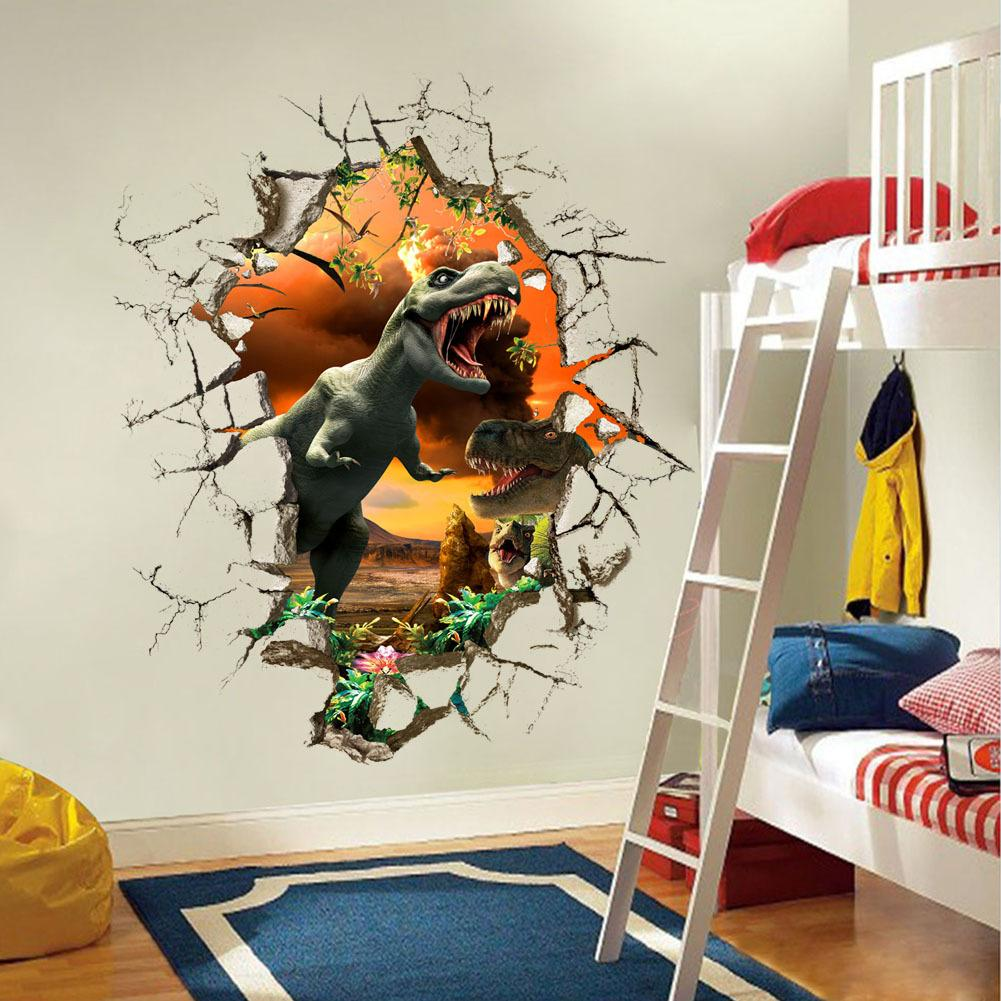 Image of: 3d Wall Stickers Decor Modern