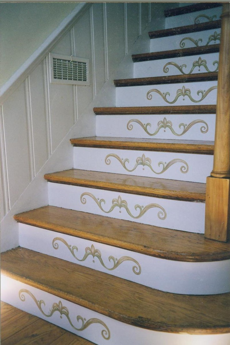 Image of: Art Paint for Basement Stairs