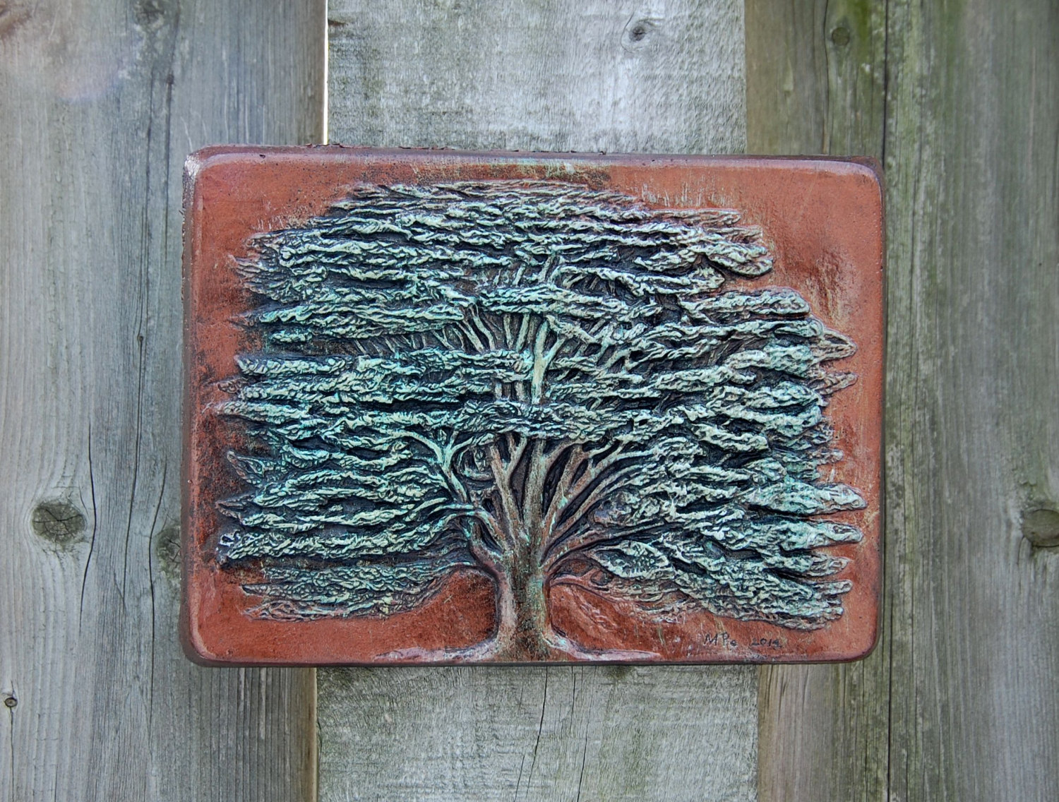 Image of: Awesome Outdoor Wall Art Decor