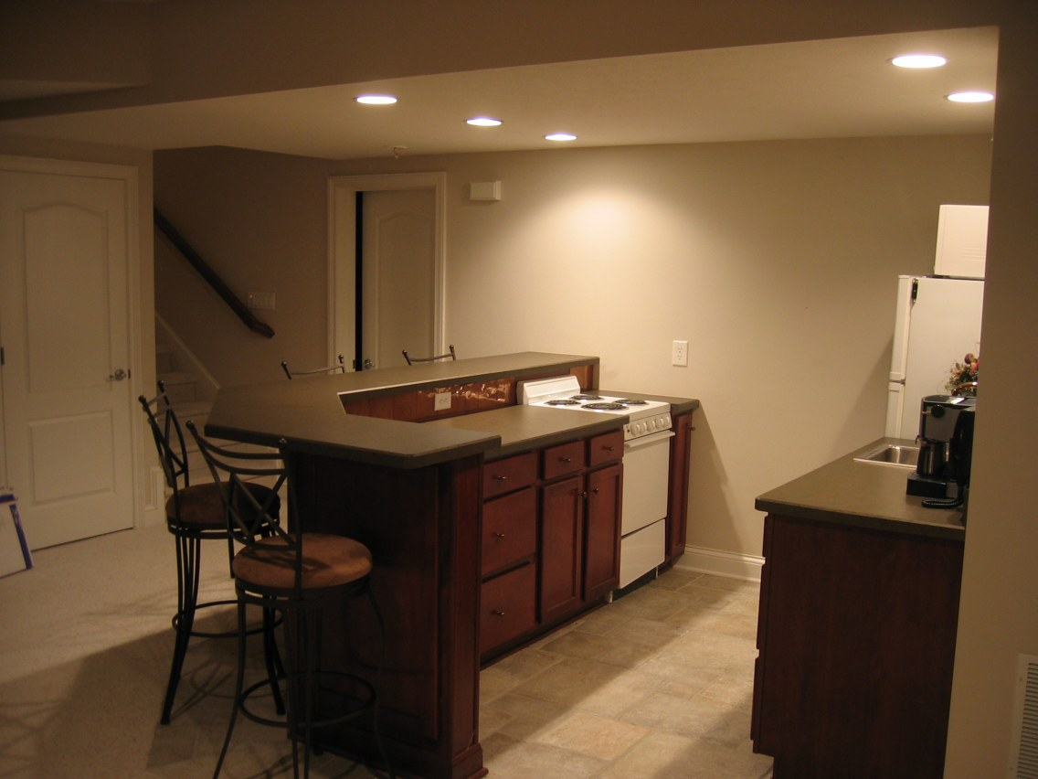 Bar Designs For Basement Plans