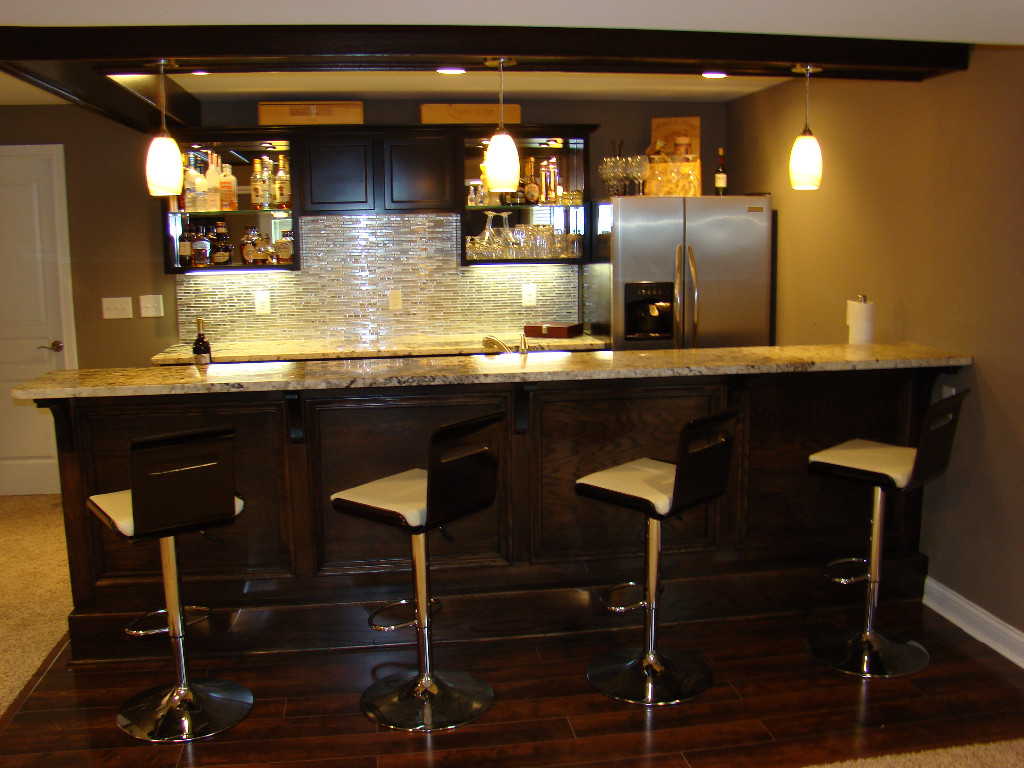 Basement Bar Pictures Small
