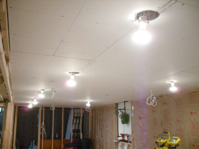 Picture of: Basement Ceiling Lights Bulb