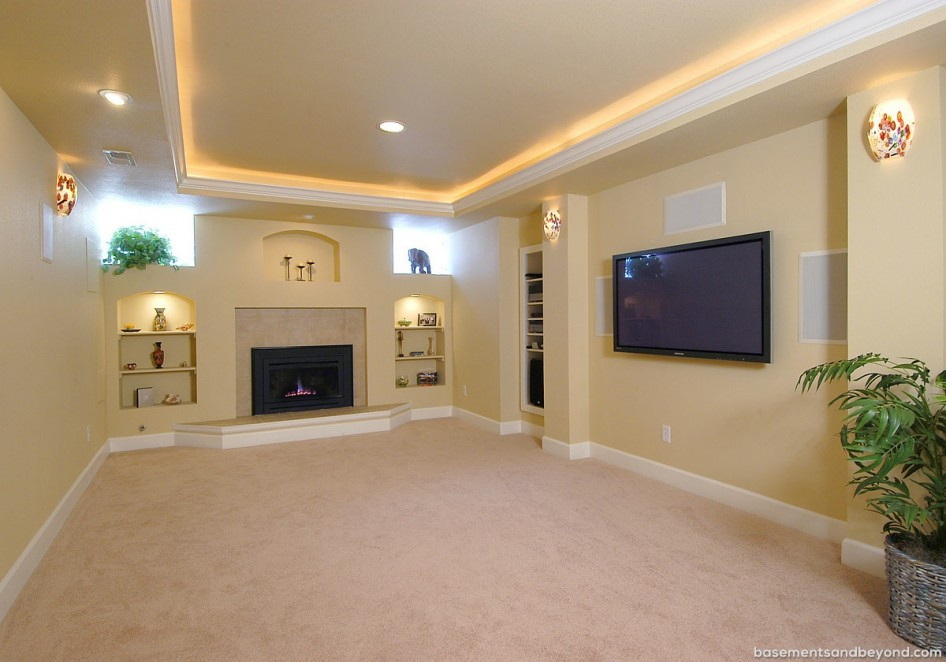Picture of: Basement Ceiling Lights Led Color