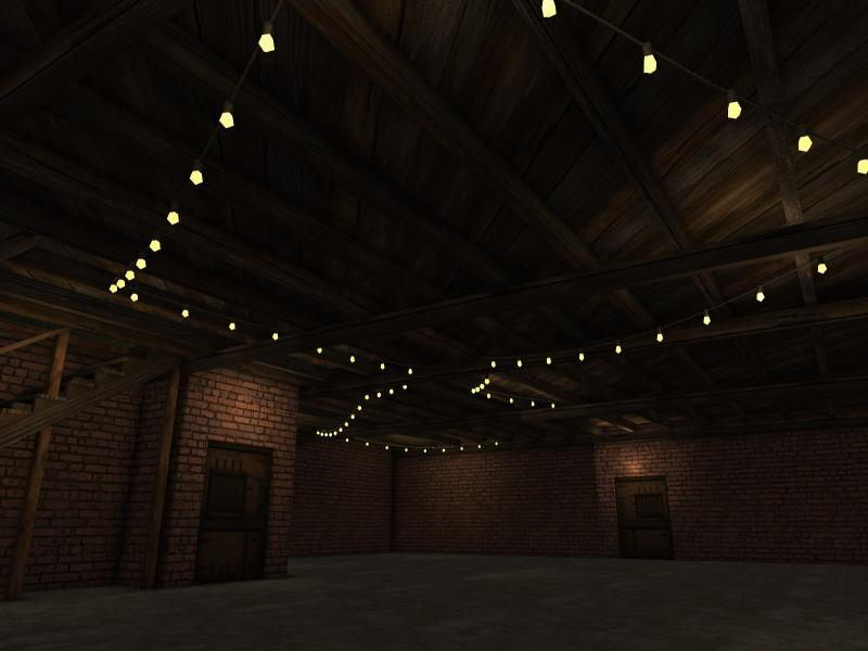 Picture of: Basement Ceiling Lights String