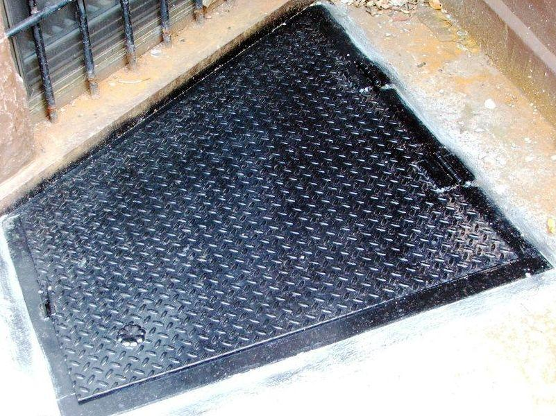 Basement Hatch Door Plate