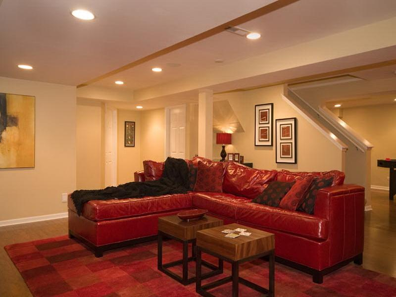 Basement Paint Colors And Lighting
