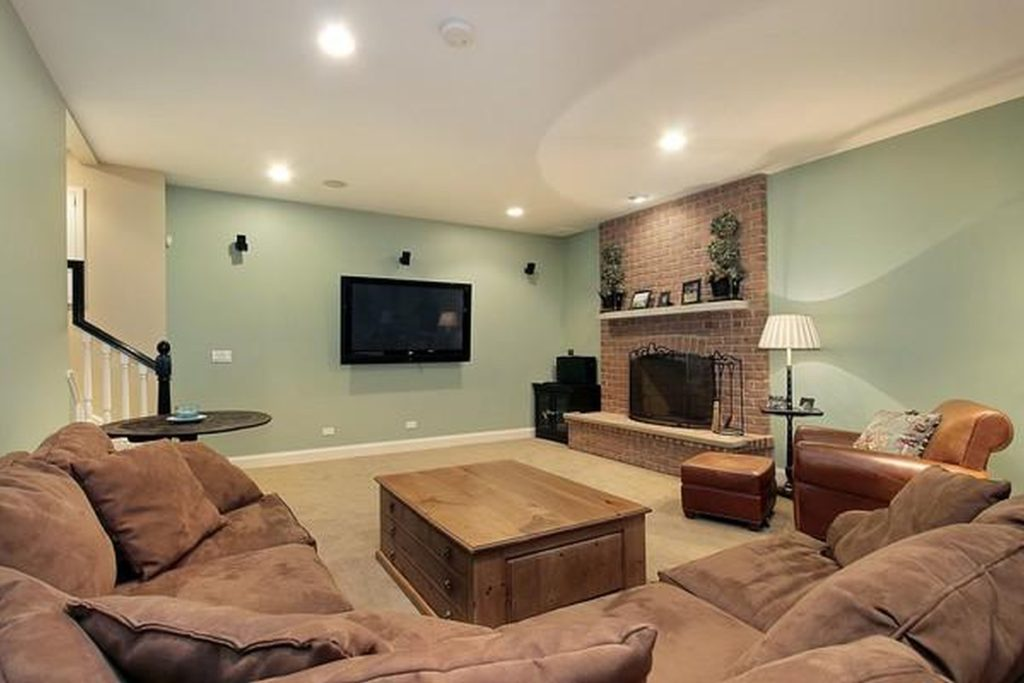 Basement Paint Colors Green