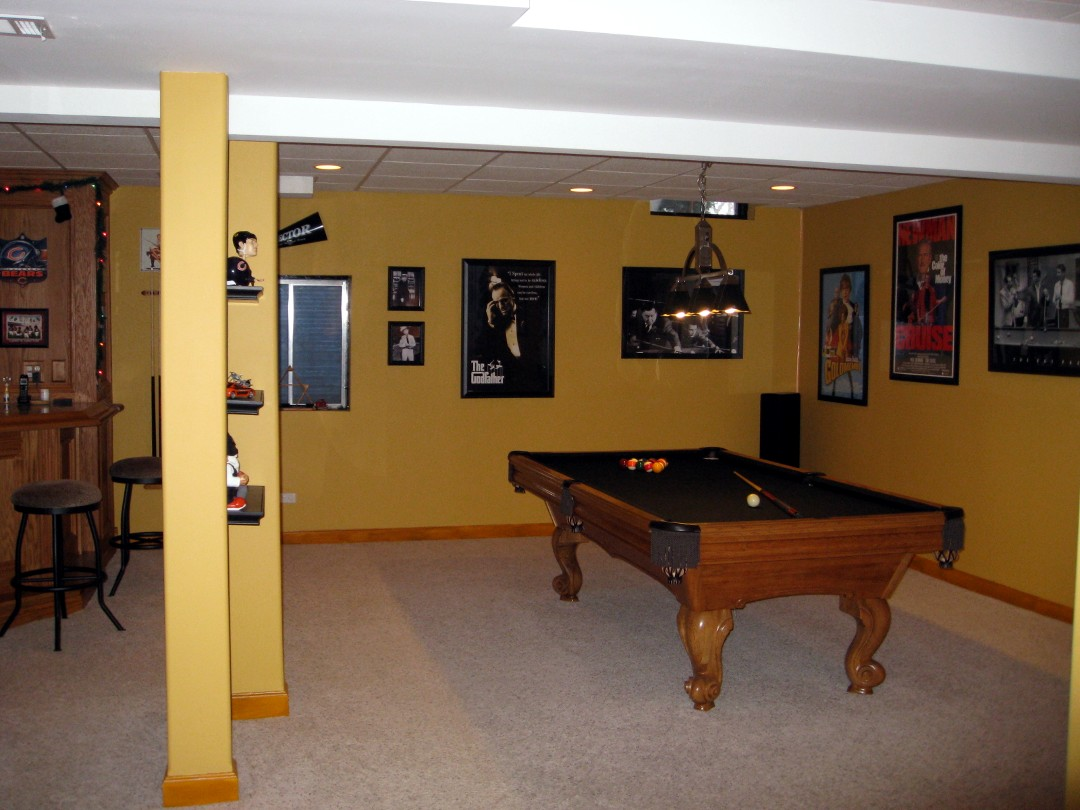 Basement Paint Colors Yellow