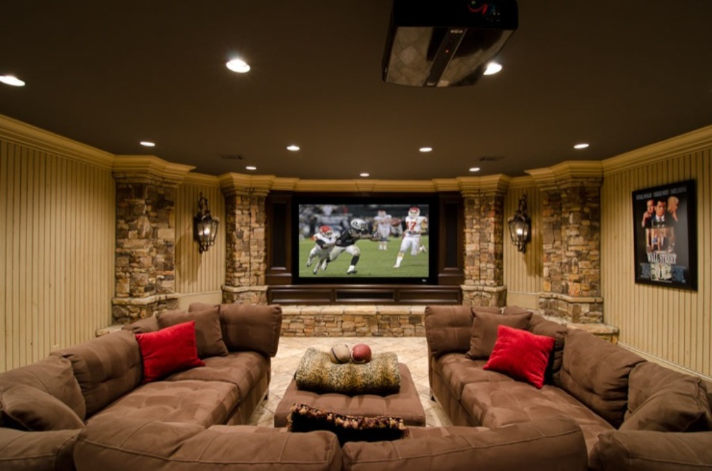 Basement Remodel Ideas Mountain Style Homes