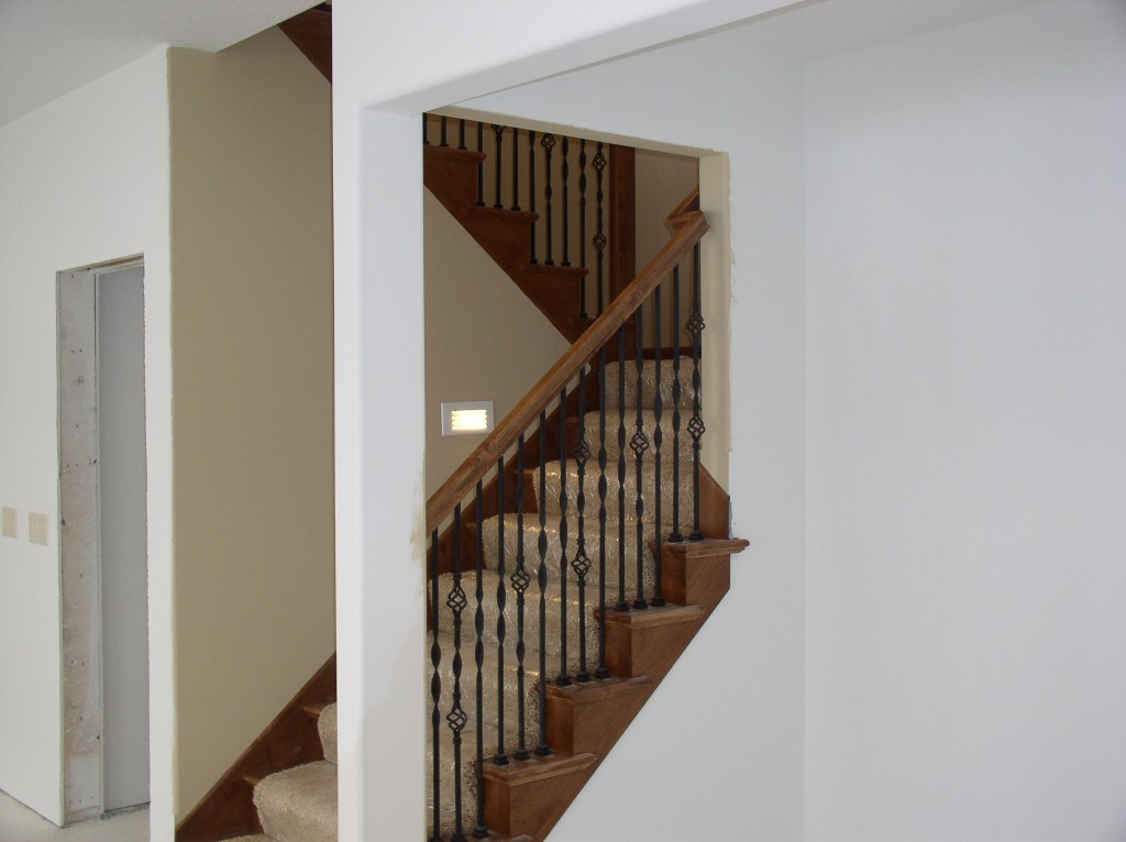 Basement Stair Handrail Design