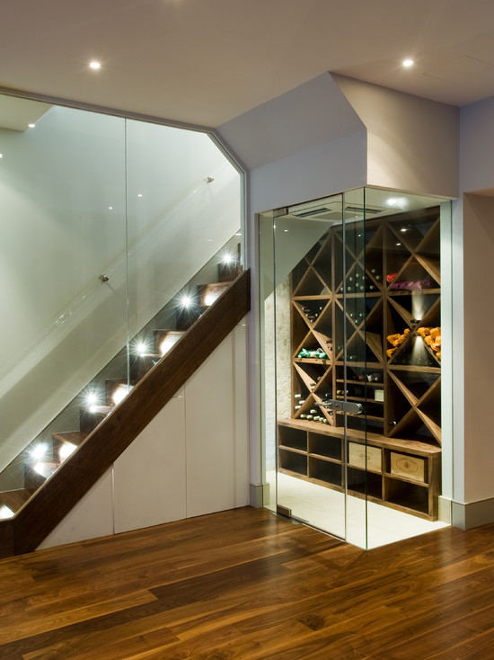 Basement Stair Lighting Ideas Awesome