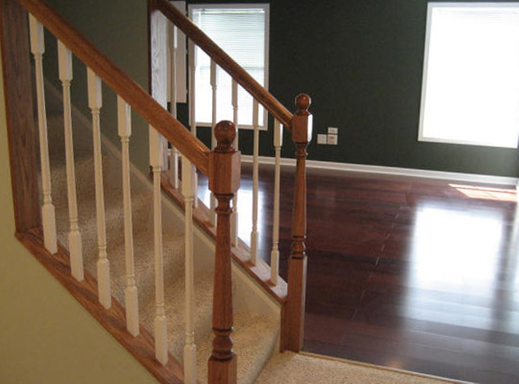 Basement Stair Railing And Balusters