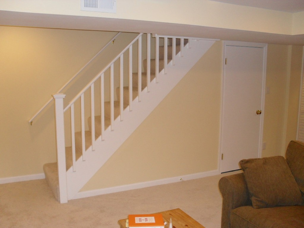 Basement Stair Railing Design