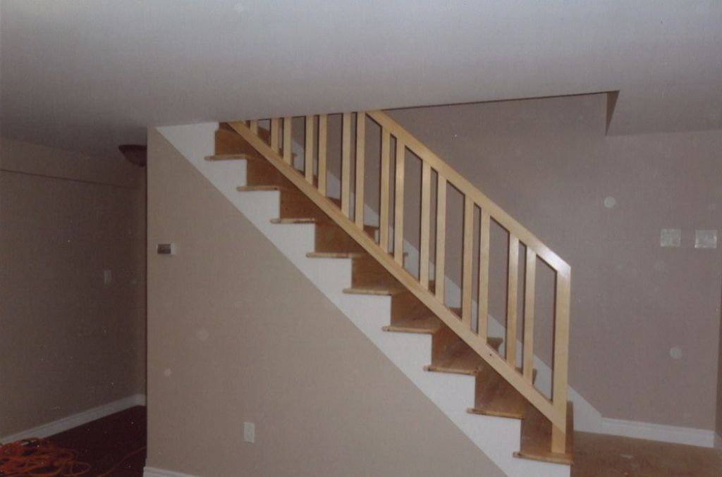 Basement Stair Railing Height