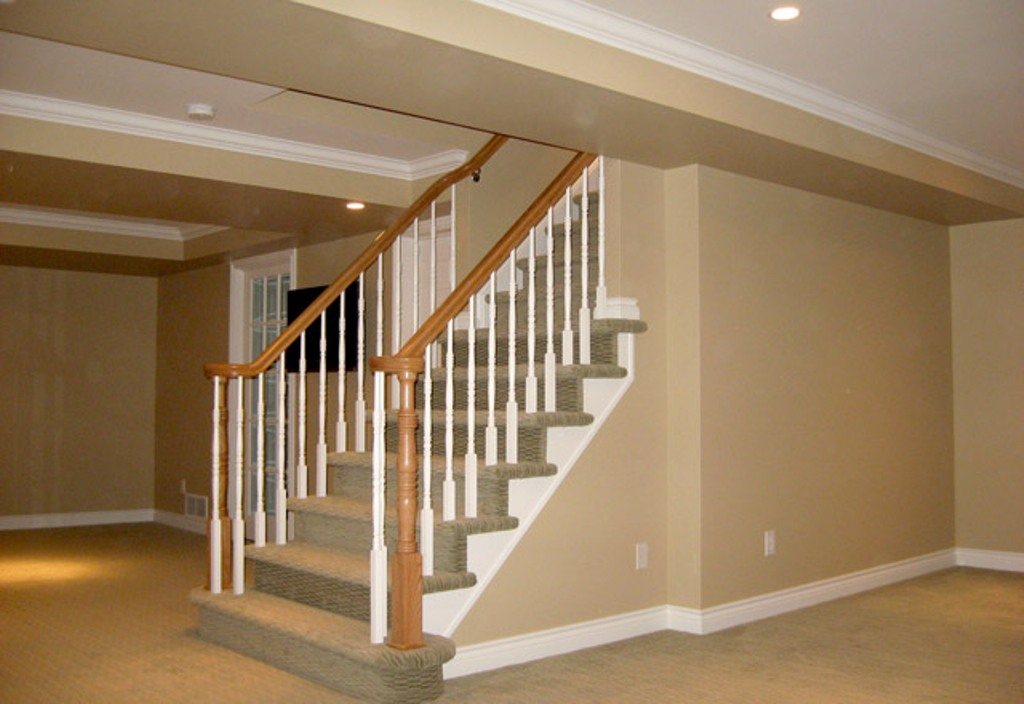 Basement Stair Railing Plans