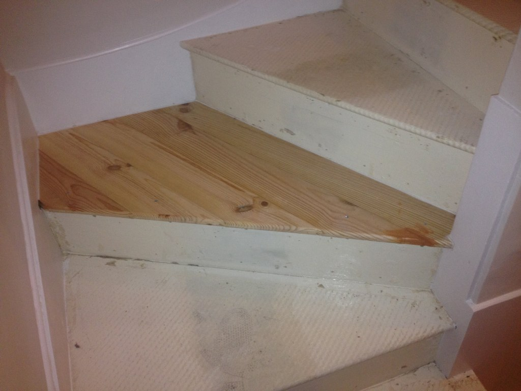 Image of: Basement Stair Treads Lowes