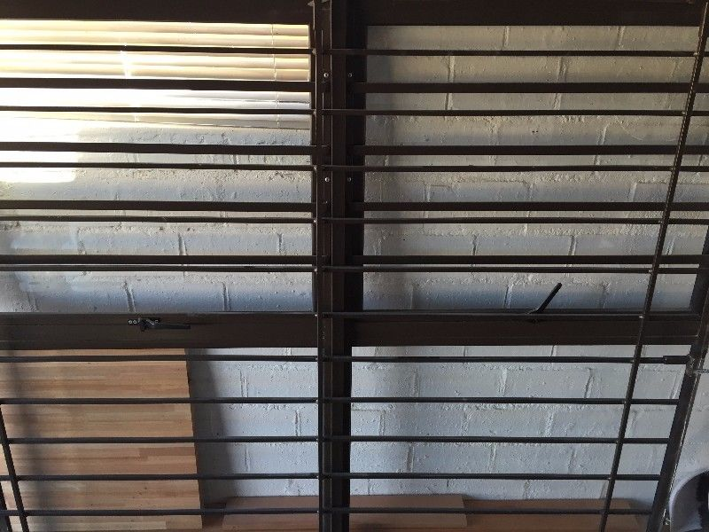 Basement Window Bars Metal