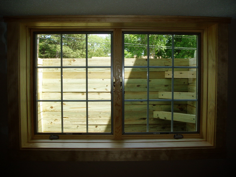 Basement Window Bars Type