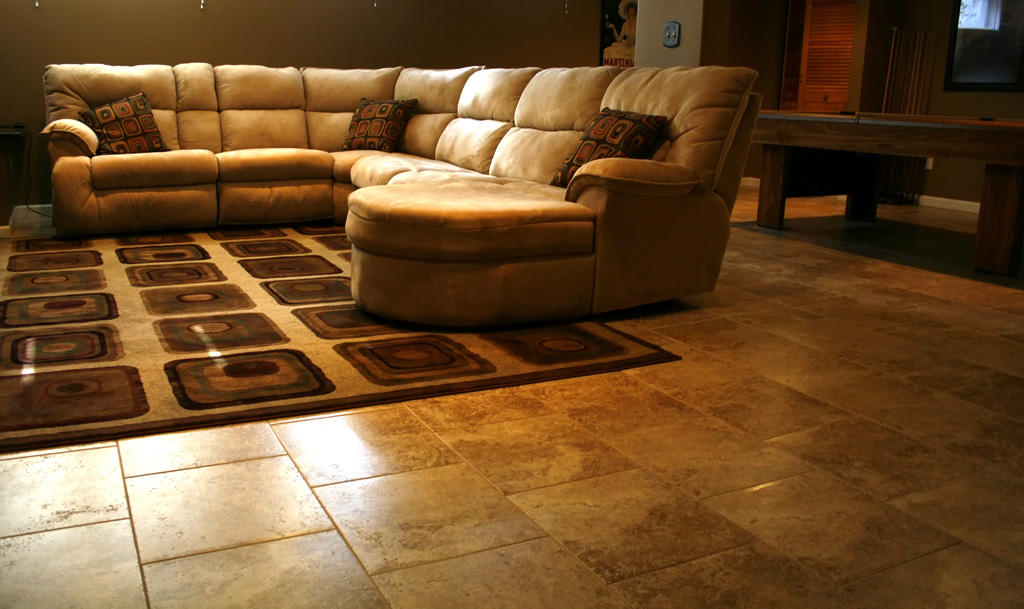 Best Basement Floor Tiles Ideas