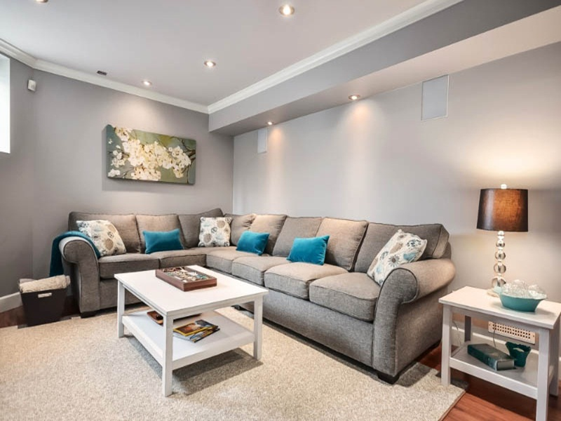 Image of: Best Ideas For Unfinished Basement Lighting
